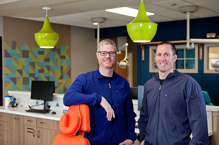 Dr. Dan Bolt and Dr. Thomas Bouwens